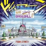 Baseball Title screen in manga