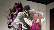 Kosaku tries to murder Shinobu