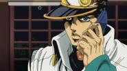 Jotaro calling Koichi