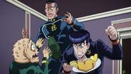 Josuke threatens Shigechi