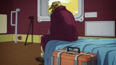 Joseph aboard his yacht