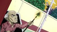 Yoshihiro spying on Ken