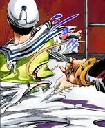 Damo tortures Kira