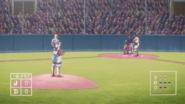 Baseball Gameplay in anime
