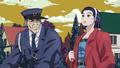 Ryohei talks to daughter