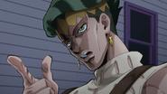 Rohan threatens Josuke