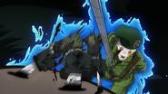 Green Beret stabs Koichi