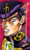 Josuke portrait angry pen, diu color v7 021
