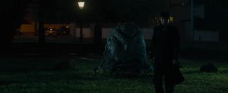Josuke turns Angelo into a rock