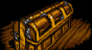 Dio's coffin in SFC game