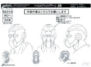 Hierophant Green anime ref (1)