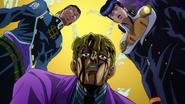 Kira confronted by Josuke