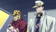 Joseph and Jotaro discuss