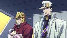 Joseph and Jotaro discuss