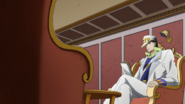 Jotaro investigating