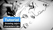 How i Draw Lips for Jojo's Bizarre Adventures Characters Explained-0