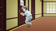 Koichi needing the restroom