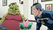 Okuyasu with his dad