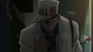 Jotaro investigating Kira
