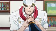 Tonio reads Okuyasu's health problems