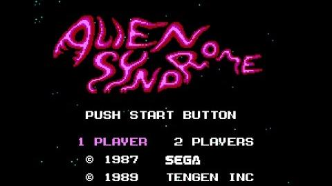 Alien Syndrome - NES gameplay
