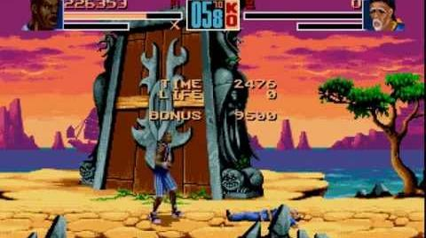 Shaq Fu Longplay (Mega Drive Genesis) 60 FPS