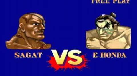 Street Fighter II′ Turbo Hyper Fighting (Arcade) - Sagat Longplay