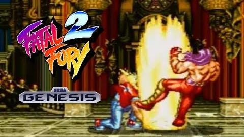 Fatal Fury 2 playthrough (SEGA Genesis)