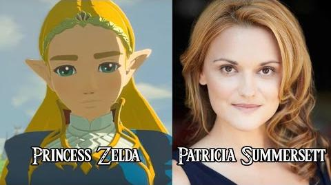 Characters and Voice Actors - The Legend of Zelda Breath of the Wild (English)