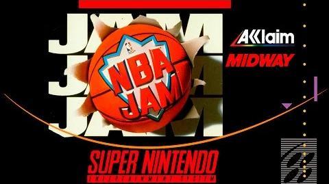 NBA Jam Super Nintendo