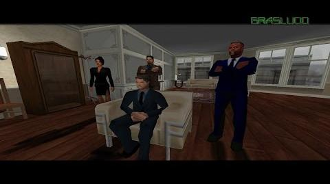007 - The World Is Not Enough N64 - Courier - 00 Agent