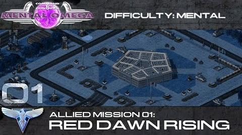 Mental Omega 3.3 Allied Mission 01 Red Dawn Rising