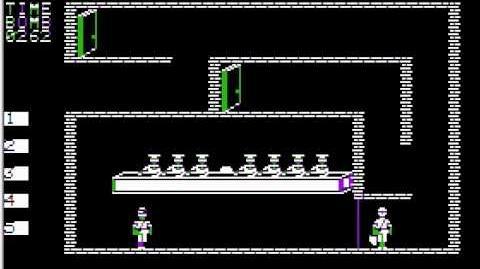 Apple II Game Beyond Castle Wolfenstein (1984 Muse Software) Longplay