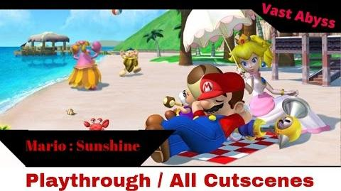 Mario Sunshine Gamecube 2002 Longplay Playthrough No Commentary