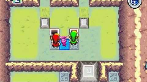 The Legend of Zelda Four Swords Walkthrough part 1