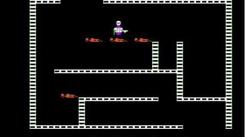 Apple II Game Castle Wolfenstein (1981 Muse Software) Longplay-0