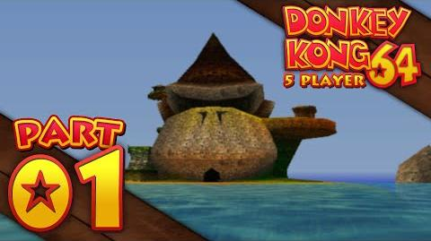 Donkey Kong 64 - Part 01 (5-Player)