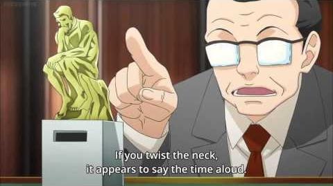 JohnnyOTGS/JohnnyTalk: Phoenix Wright Anime