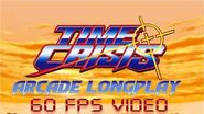 Time Crisis -Arcade Version- by Namco (1995) - 1080p 60fps Longplay Walkthrough on MAME