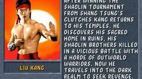 Mortal Kombat II (Arcade) Liu Kang Gameplay on Very Hard no Continues