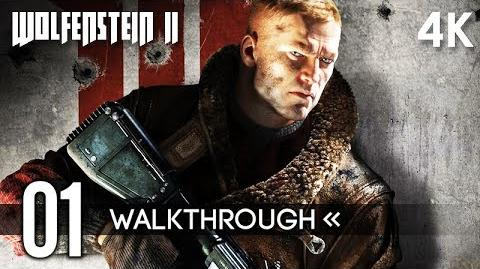 WOLFENSTEIN 2 THE NEW COLUSSUS Gameplay Walkthrough Part 1 (The Reunion) No Commentary 4K 60FPS