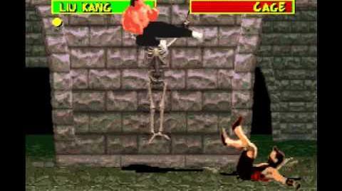 Mortal Kombat 1 Super Nintendo SNES Very Hard Playthrough Liu Kang