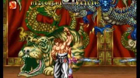 Fighter's History Dynamite Neo Geo Longplay