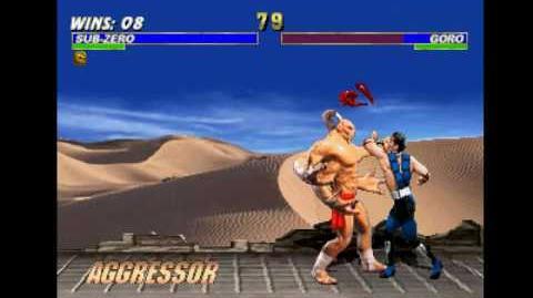 Mortal Kombat Trilogy (PSX) - Longplay as Sub-Zero