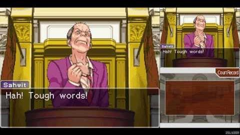 Phoenix Wright Ace Attorney 01 - The First Turnabout ~ Trial