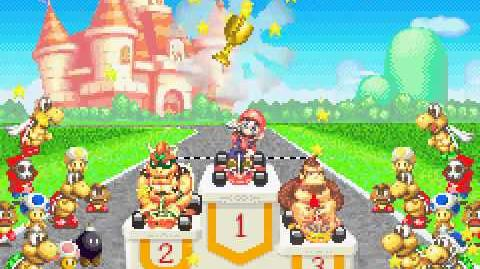 Game Boy Advance Longplay 075 Mario Kart Super Circuit
