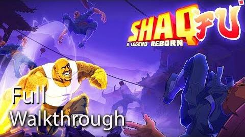 SHAQ FU A Legend Reborn Gameplay Full Walkthrough (Xbox One X) No Commentary 60FPS