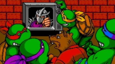 Teenage Mutant Ninja Turtles IV Turtles in Time (SNES) Playthrough - NintendoComplete-0