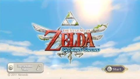 (001) Zelda Skyward Sword 100% Walkthrough - New Beginnings