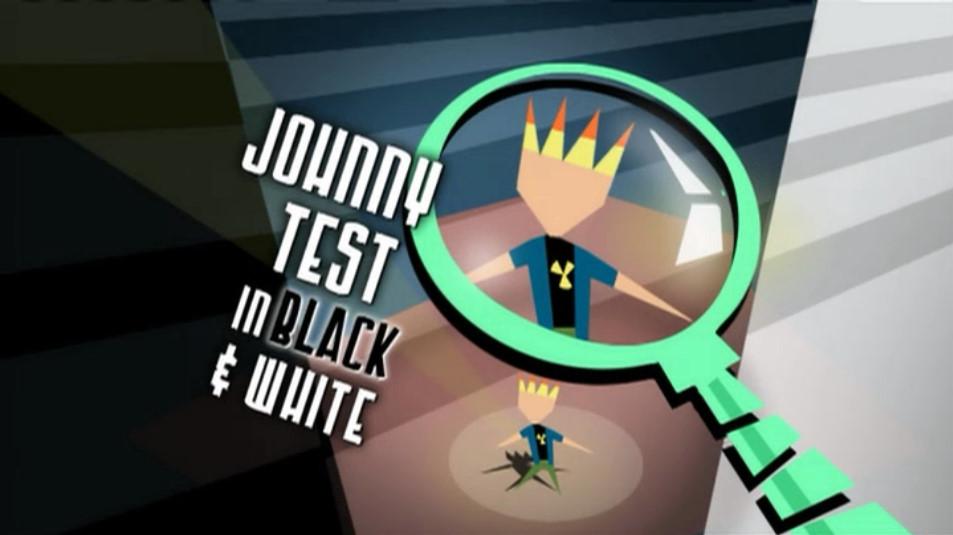 Johnny Test in Black & White